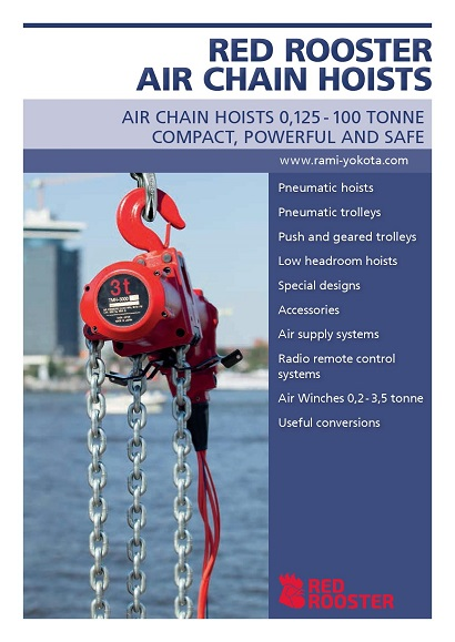 RED ROOSTER Air Chain Hoist