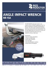 RED ROOSTER Angle Impact Wrench RR-15A
