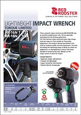 RED ROOSTER Torque Limited Impact Wrench RR-16N T & RR-18N T