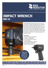 RED ROOSTER Impact Wrench RRI-14