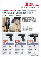 RED ROOSTER Composit Impact Wrench RRI-17 - 21 - 25