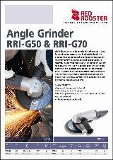 RED ROOSTER Angel Grinder RRI-G50 & RRI-G70