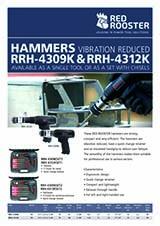 RED ROOSTER Chisel Hammer RRH-4309K & RRH-4312K
