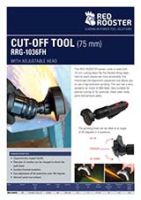 RED ROOSTER Cut-Off Tool RRG-1036FH