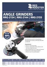 RED ROOSTER Angle Grinder RRG-2155