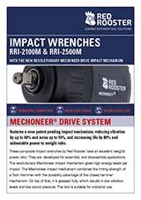 RED ROOSTER Mechoneer Impact Wrench RRI-2100M & RRI-2500M