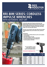 RED ROOSTER Battery Impulse Tools RRI-BIM serie