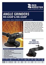 RED ROOSTER Angle Grinder RRI-G50HP