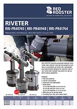 RED ROOSTER Riveter & Rivet Nut Setter